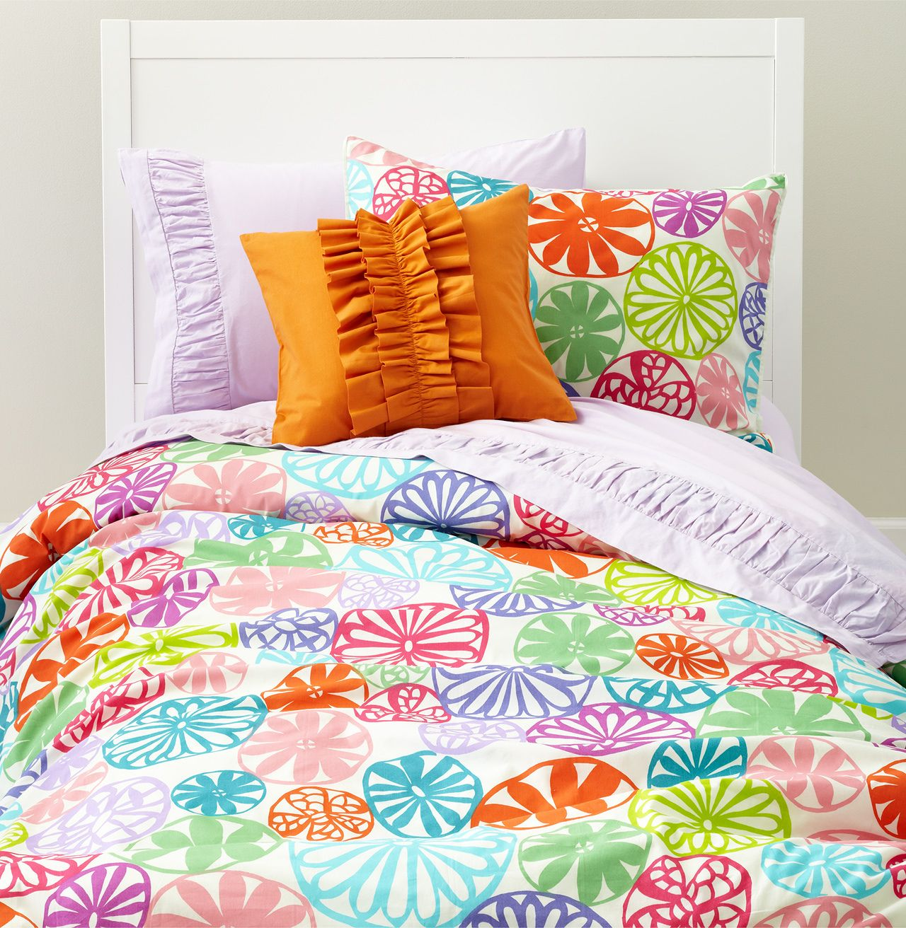 sunshine day Bedding designed exclusively for Land of Nod