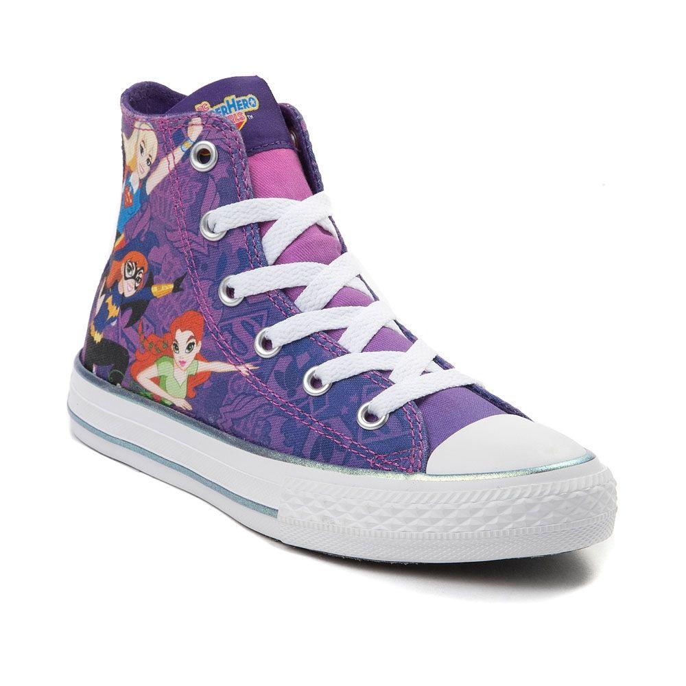 Youth Converse Chuck Taylor All Star Lo Dc Comics Superhero Girls™ Shoe