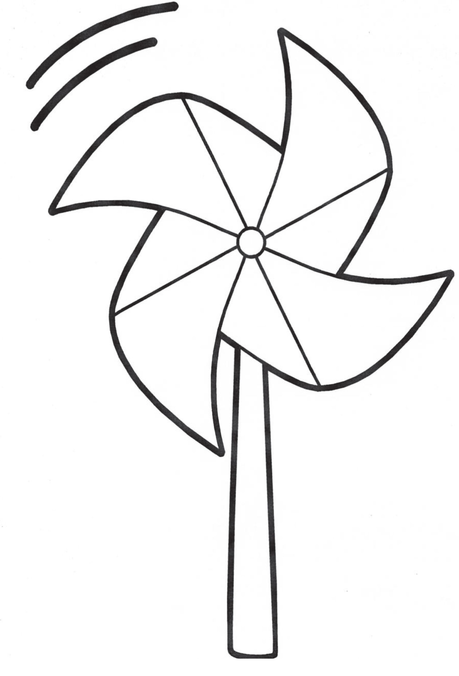 decorate your own pinwheel to support happy healthy children www