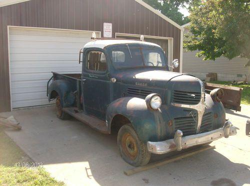 Dodge Truck Parts >> Other Pickups 1946 Dodge Pick Up Truck Ratrod Hotrod Gasser Project