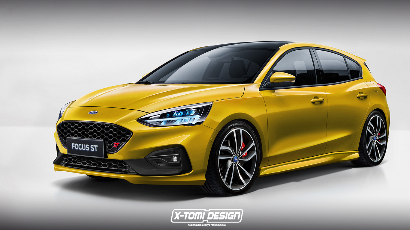 New Ford Focus St Could Be Getting 1 5 Litre Turbo Unit Ford Focus St Ford Focus New Ford Focus