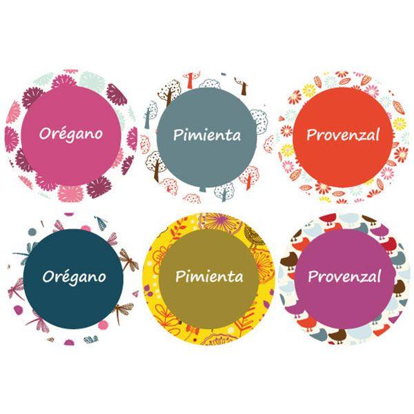 etiquetas para frascos de especias - Buscar con Google | Stickers ...