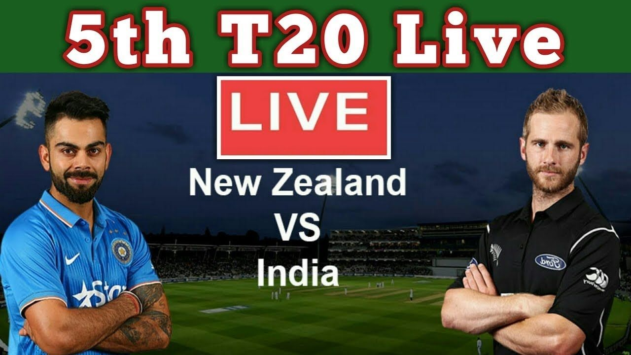 India vs New Zealand 5th T20 Live Score IND vs NZ Live
