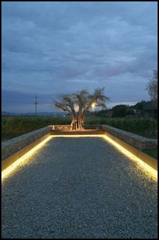 Utilisation Du Ruban Led Pour Illuminer Son Jardin Et Le Mettre En Valeur Terrain Petanque Terrain Boule Petanque Jardins