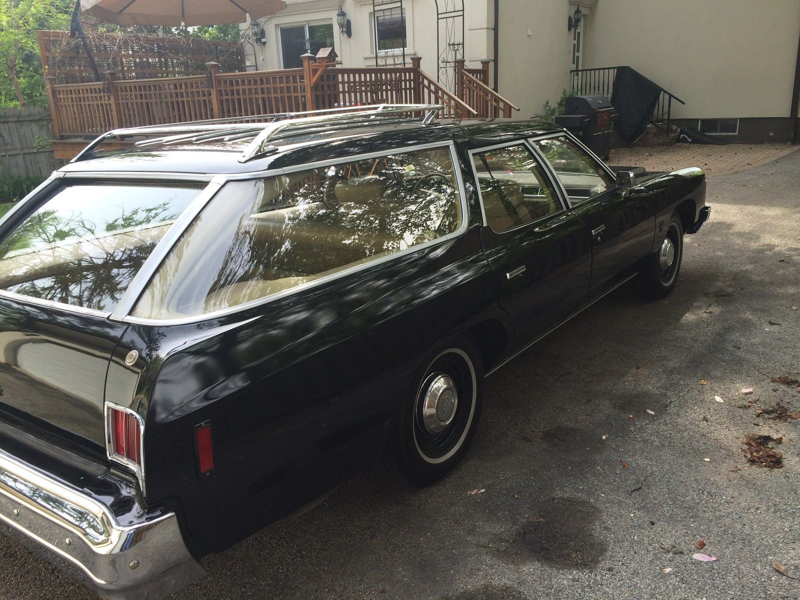 Wow This Is A Rarity A 1975 Chevrolet Bel Air Wagon The Bel Air Was Once The Snazziest Of The Chevrolet Lineup Cool Old Cars Station Wagon Chevrolet Bel Air