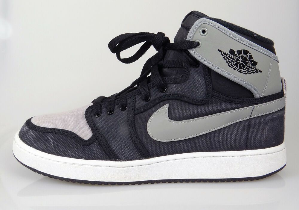 super popular 73465 12b5e Air Jordan 1 KO High OG Black Shadow Grey 638471-003 Canvas Men s Size 11    eBay. Find this Pin and ...