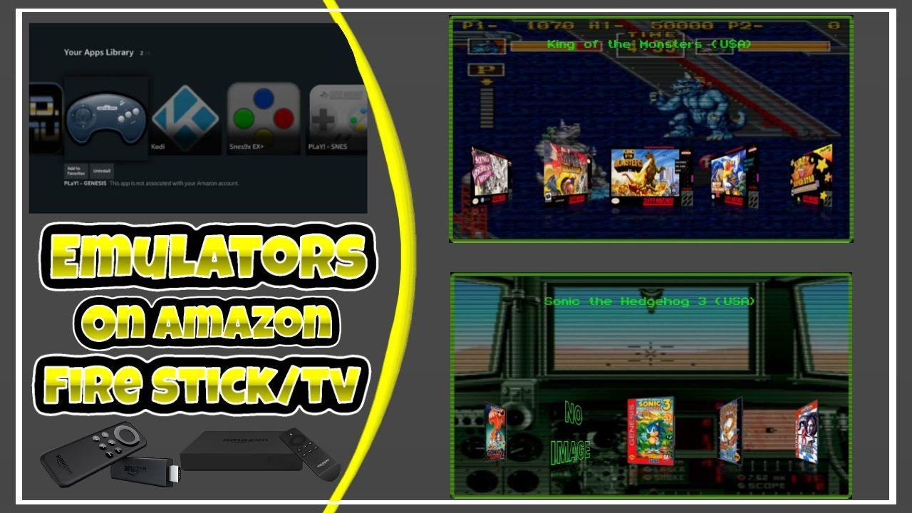 How To Get NES, SNES, & SEGA Genesis Emulator On Amazon Fire Stick