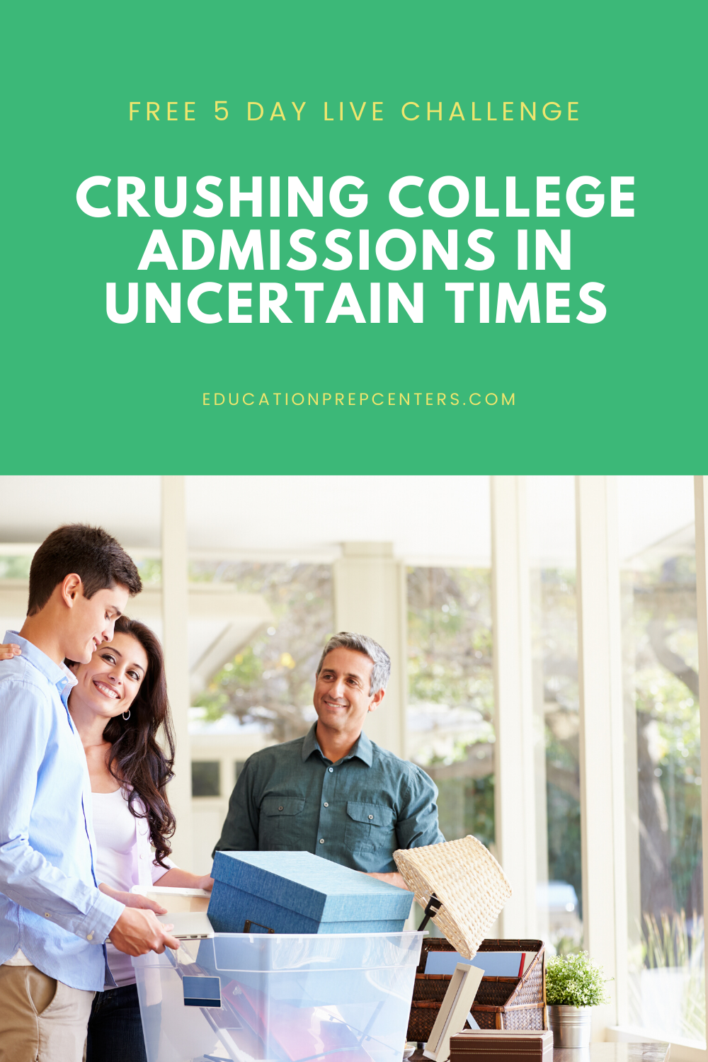 Crushing College Admissions in Uncertain Times in 2020