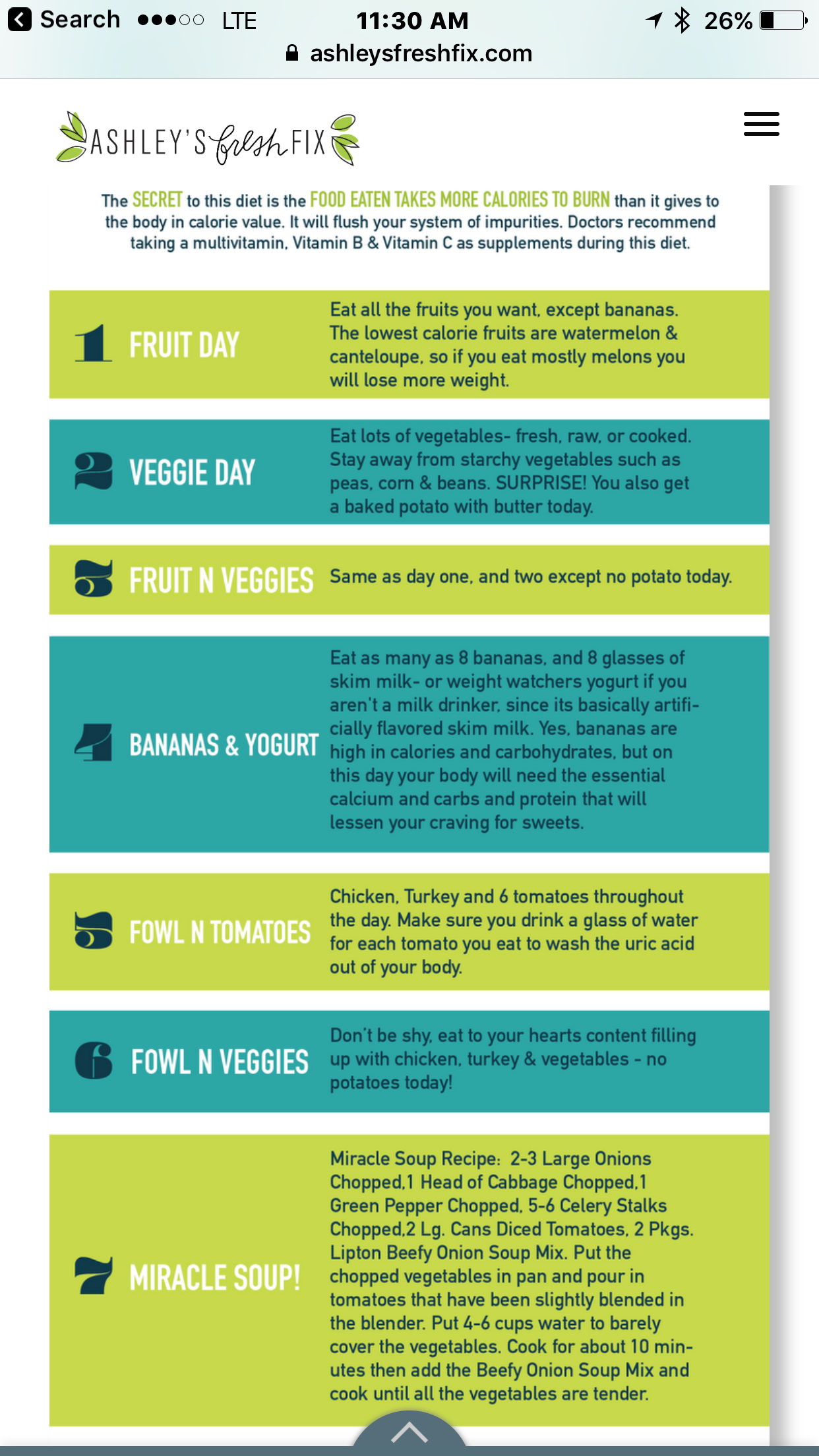 7 Day Oatmeal Diet Plan To Lose Up 10 Pounds In 1 Week: Pin On Diet