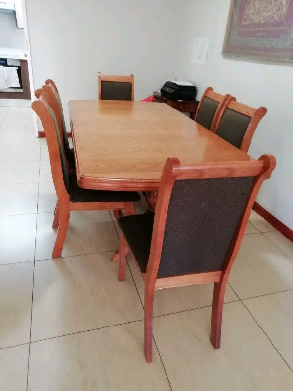 Pine Dining Room Tables Awesome Beautiful Oak Diningroom Set Johannesburg South Gumtree Classifieds South Africa