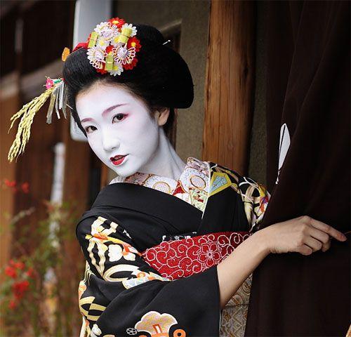 épinglé Sur Geisha