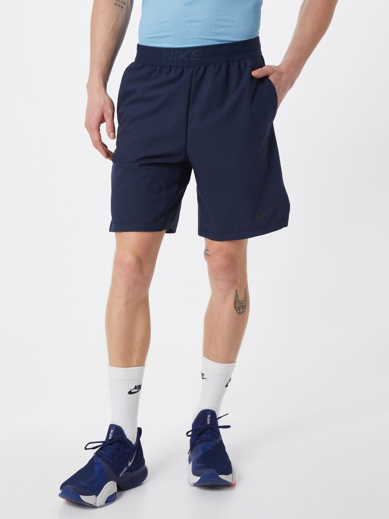 Nike Sporthose Flx Vent Max 3 0 Herren Dunkelblau Grosse Xl In 2020 Nike Sporthose Nike Fitness Und Fitness Hose