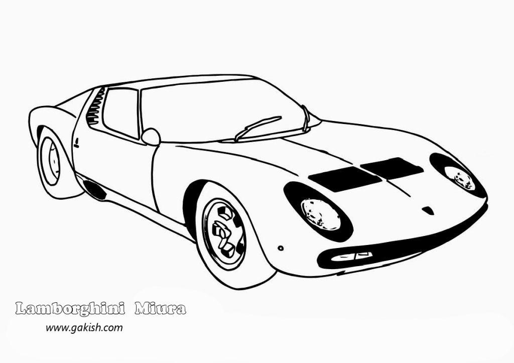 Lamborghini Coloring Pictures