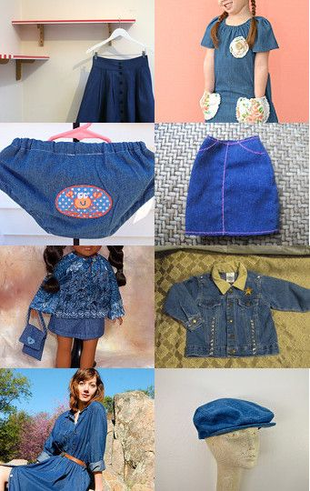 DENIM for ALL by Debbie Roney on Etsy--Pinned with TreasuryPin.com