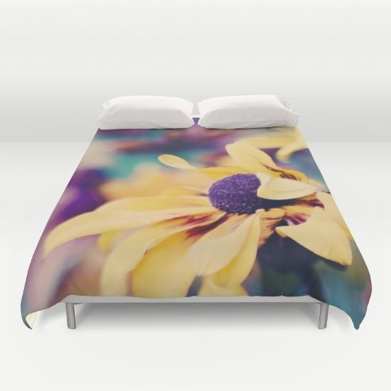 Buy ultra soft microfiber Duvet Covers featuring mellow yellow by Ingrid Beddoes. Hand sewn and meticulously crafted, these lightweight Duvet Cover vividly feature your favorite designs with a soft white reverse side.