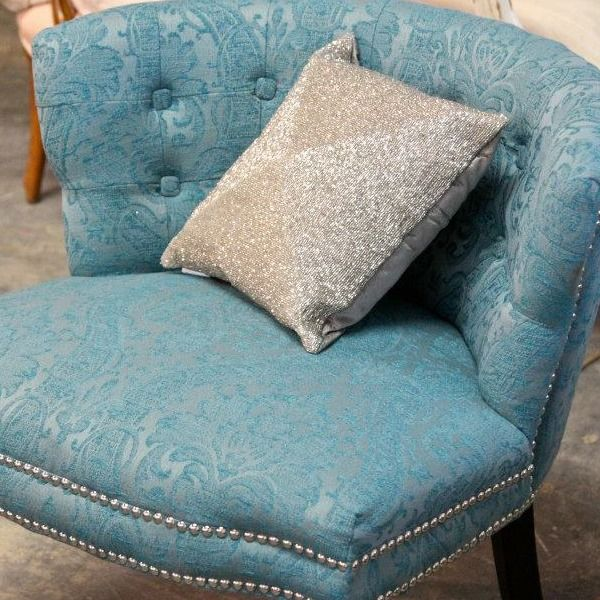 Best Upholstered Armless Blue Chair Blue Chair Chair Diy 400 x 300