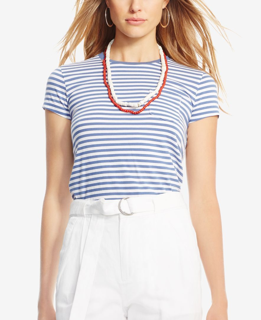 Polo Ralph Lauren Striped Crew-Neck T-Shirt