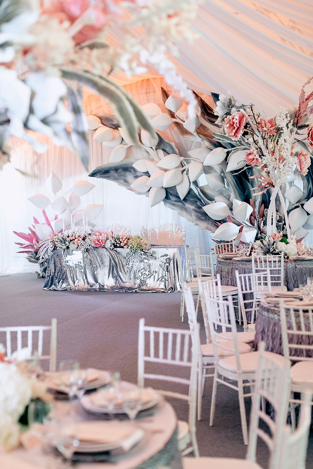 Magical Russian Wedding With Eye Catching Displays Modern Wedding