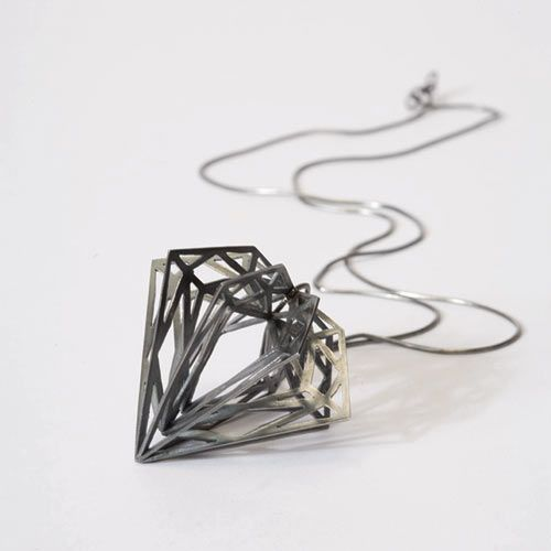 The Diamond Collection by Myia Bonner Geometric form Stylish girl