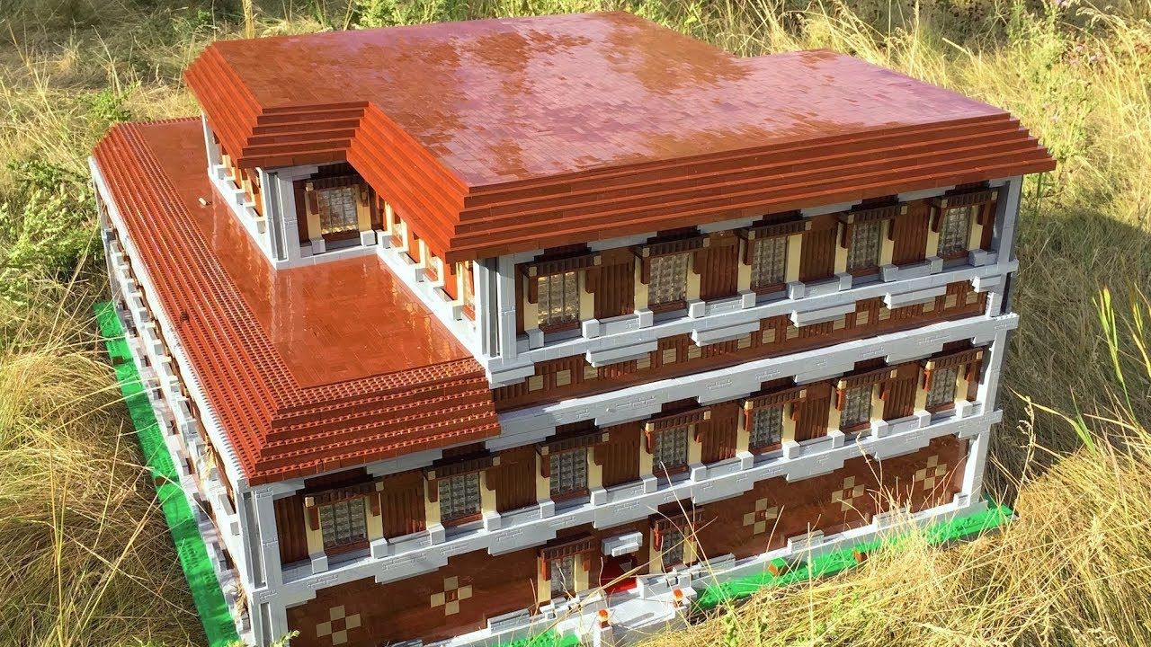 Lego Minecraft Woodland Mansion Lego Minecraft Mansions Lego