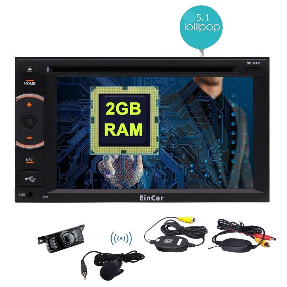 Car Stereo 2din In Dash 8 Octa Core Android 5 1 Gps Navigation