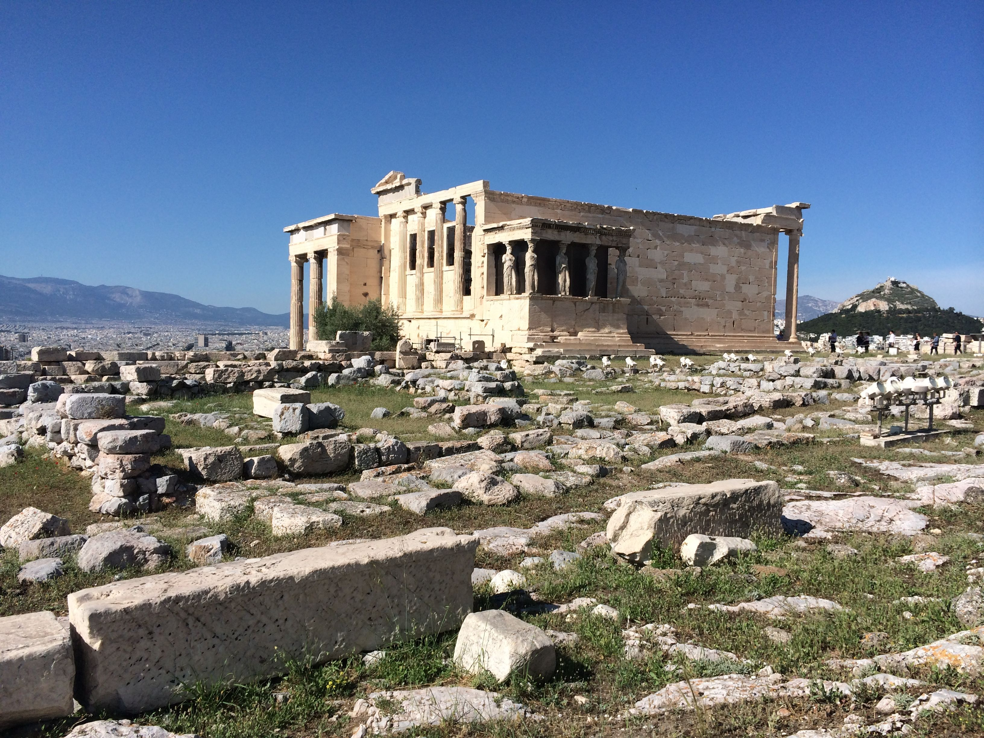 Erechtheion, templo favorito da Acrópole