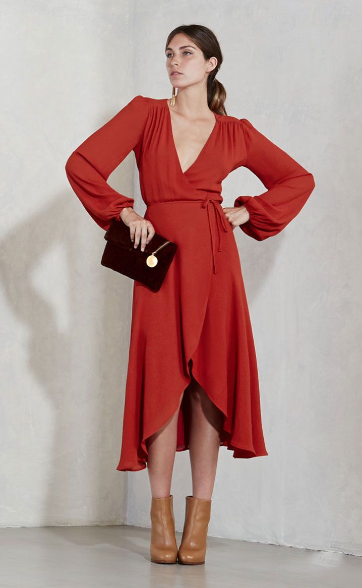 The Reformation Wrap Dress