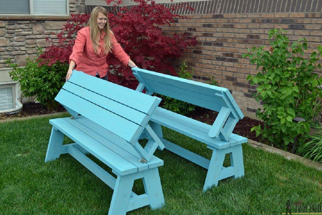 4 Multifunctional Garden Bench Design For More Practical 2 ...
