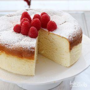 Japanischer Käsekuchen aka. Cotton Cheesecake aka. チーズケーキ | Bake to the roots