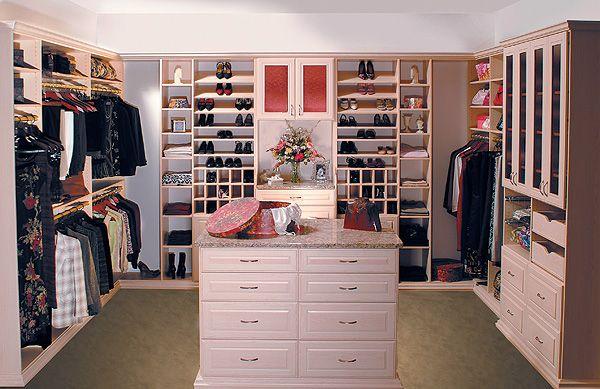 Closet Walk-In Closet House Pinterest Vestidor, Armario y Clóset