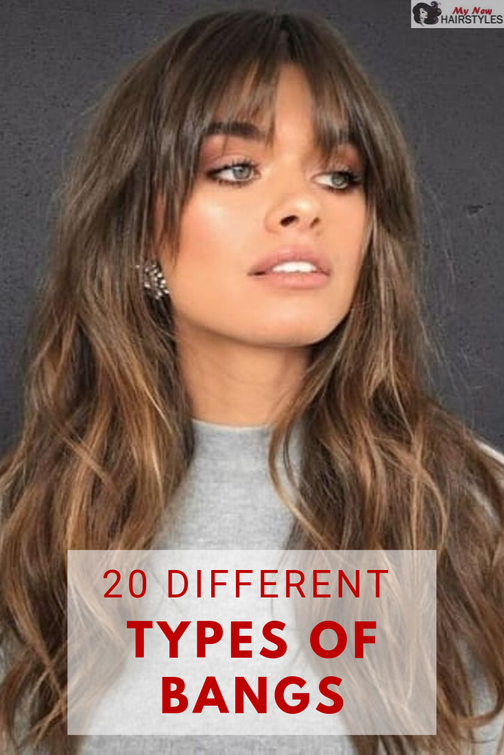 20 Different Types Of Bangs Long Hair With Bangs Long Haircuts With Bangs Long Hair Styles