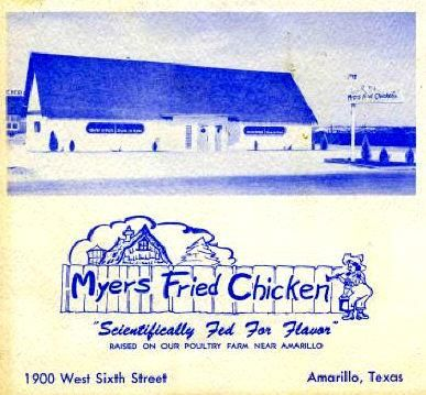 there isnt a chicken place that can match myers fried chicken eat in and watch the trains go around the ceiling or take out