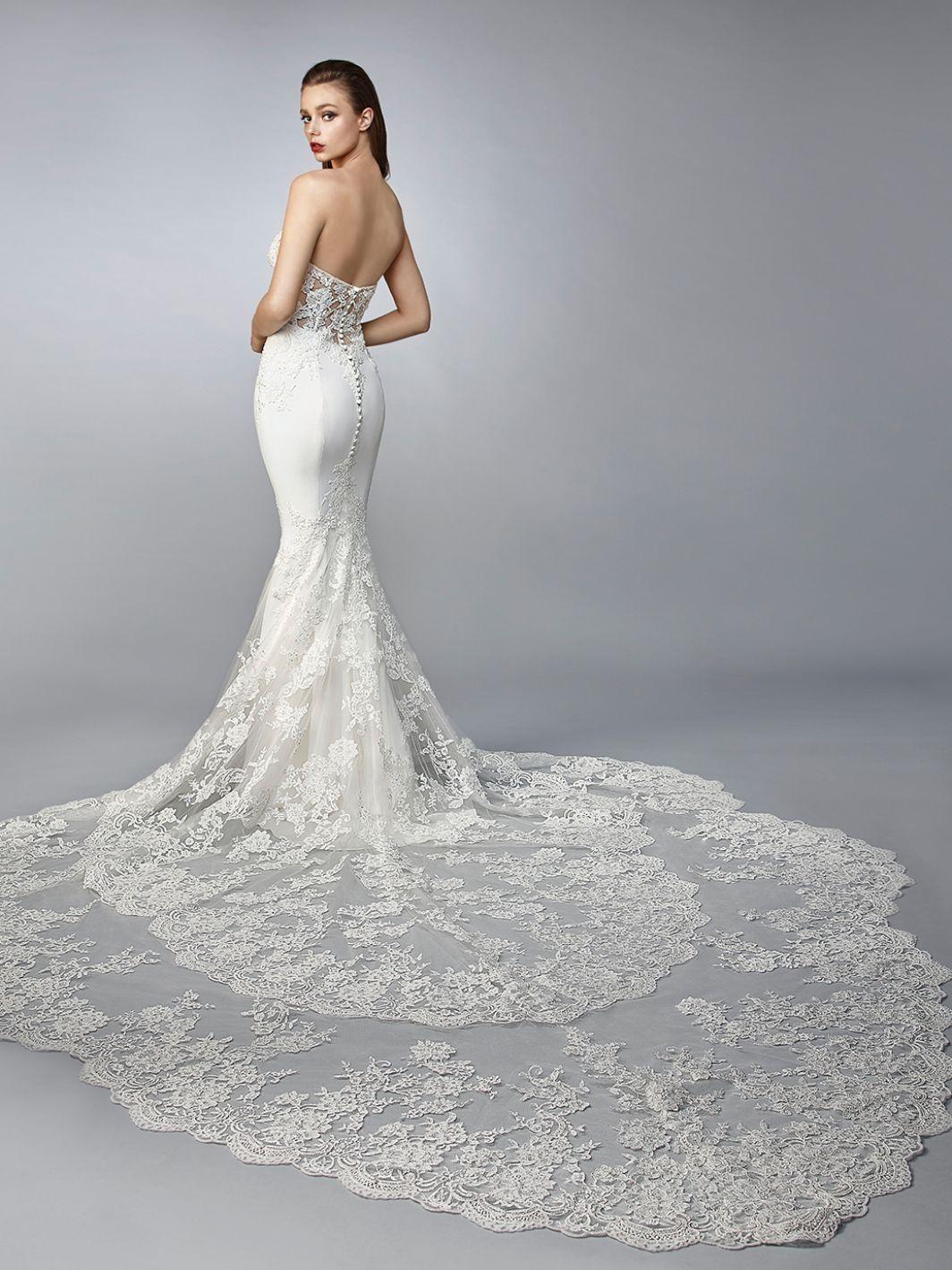 eb6023f7f65f3 NAMI   Enzoani 2019   2019 Enzoani Collection in 2019   Wedding ...