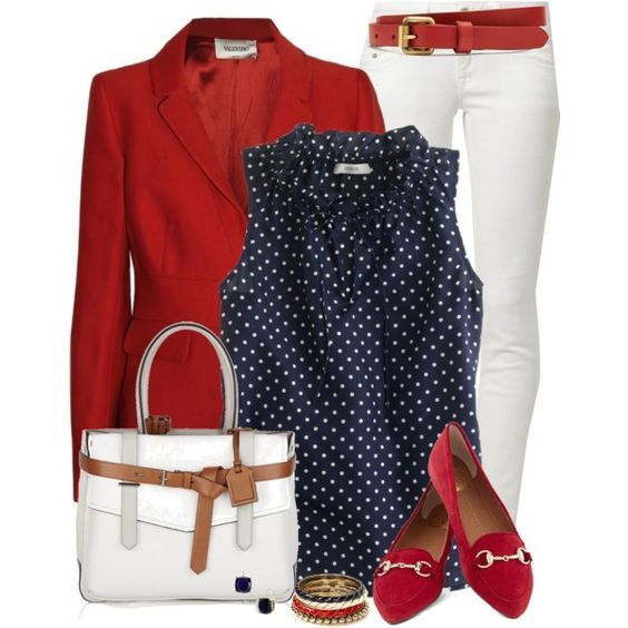 20 Pretty and Chic Polyvore Outfits for Spring – Pretty Designs – Spring Outfit