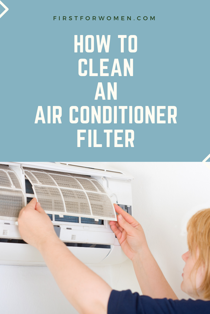 How to Clean an Air Conditioner Filter — And How Not To