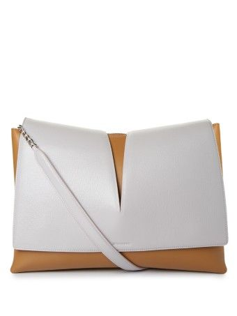 Jil Sander View medium leather shoulder bag
