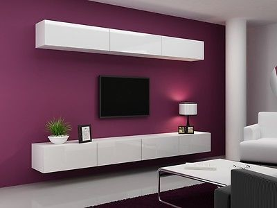 High Gloss Tv Cabinet Tv Wall Unit Tv Stand Viva 13 A