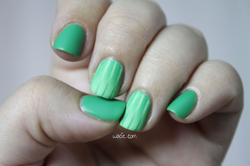 Double Reverse Gradient: Julep's Payton and Color Club's Twiggie