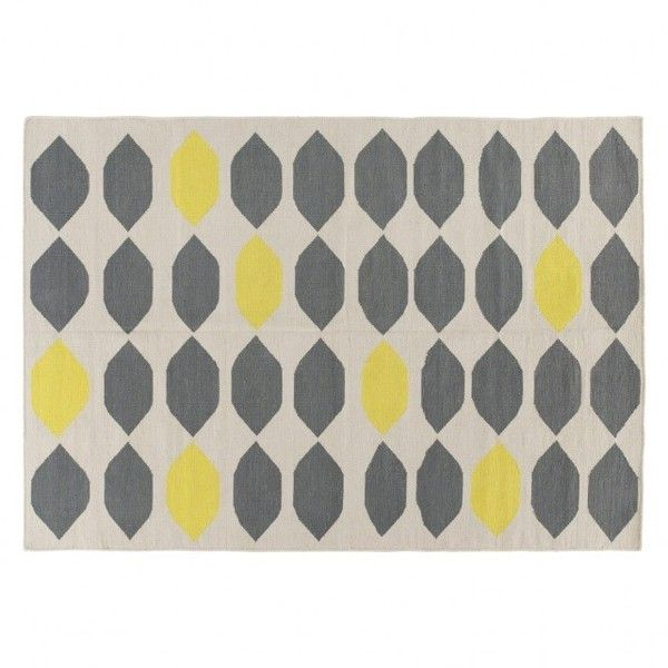 The Trillo Medium Grey Flat Weave Rug 140 X Combines A Striking Lozenge Design With Sophisticated Colour Palette Now At Habitat Uk