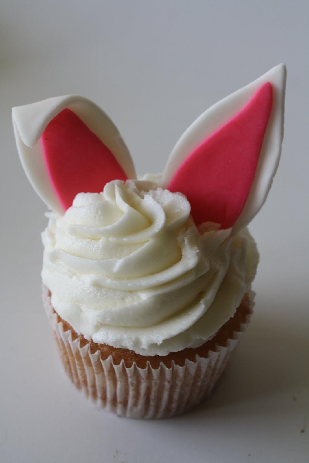 Cupcakes coelho