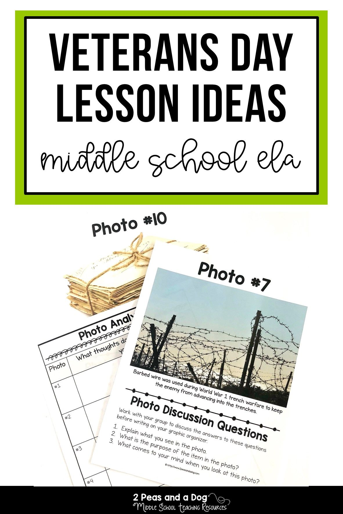 Veterans Day Lesson Plans For Middle School Students With