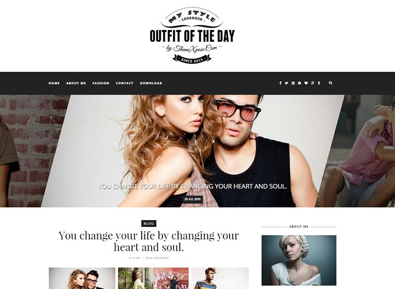 Outfit White Blogger Template é um template blogger com layout responsivo, simples e limpo, perfeito para uma variedade de propósitos. Ele é um tema ideal para blog pessoal, portfólio, fotografia, modas, blog feminino e muito mais.