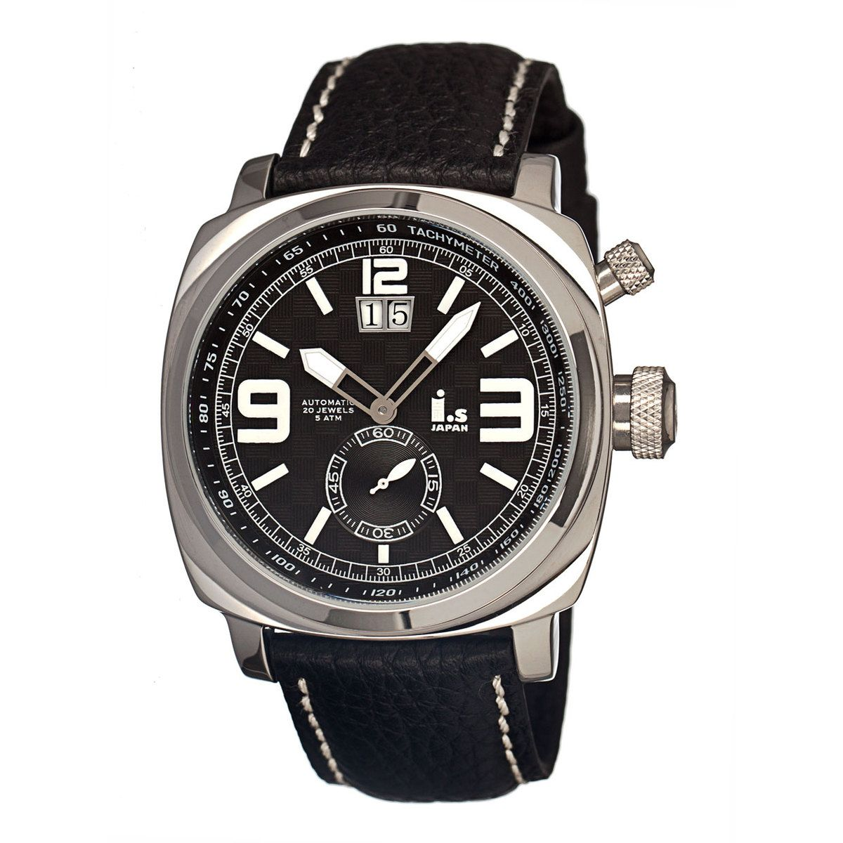 Yeah, I like this... Fab.com | I.s Men's Leather Black Silver