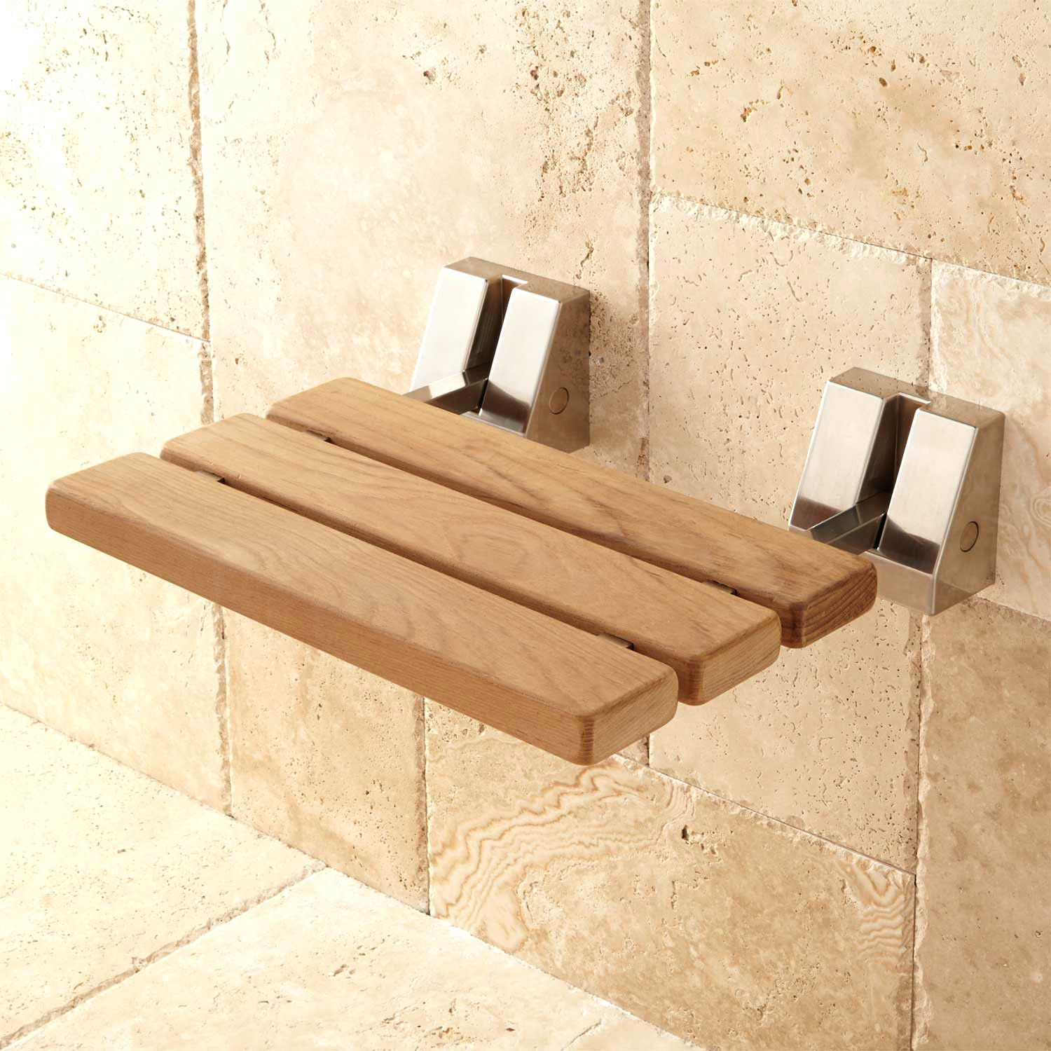 bathroom shower of waterproof teak with stools bath shelf wood bench and spa benches stool concept