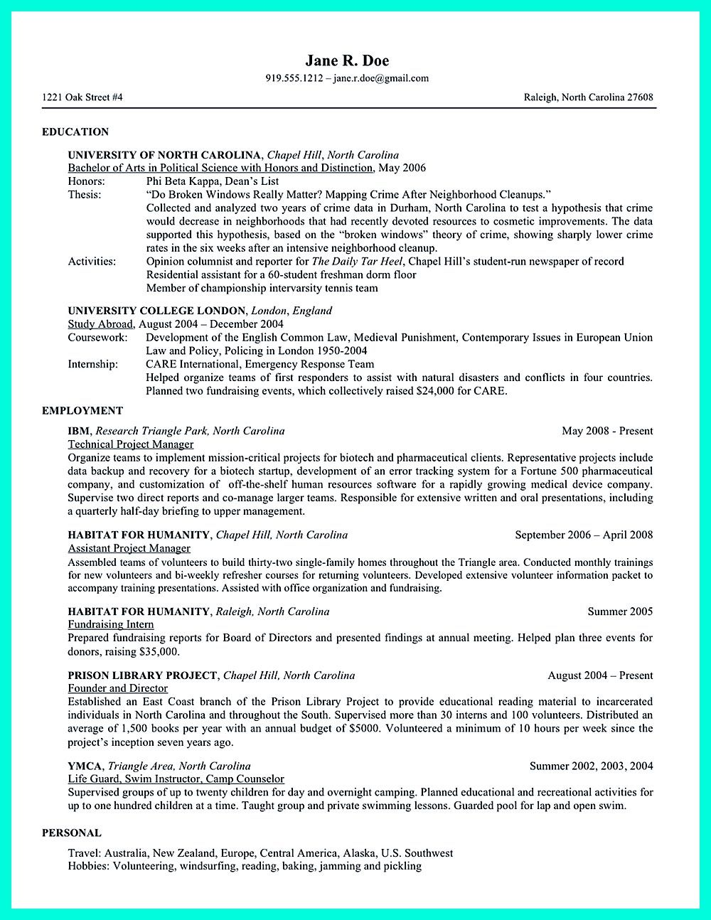 College Application Resume is very advantageous when you want to ...