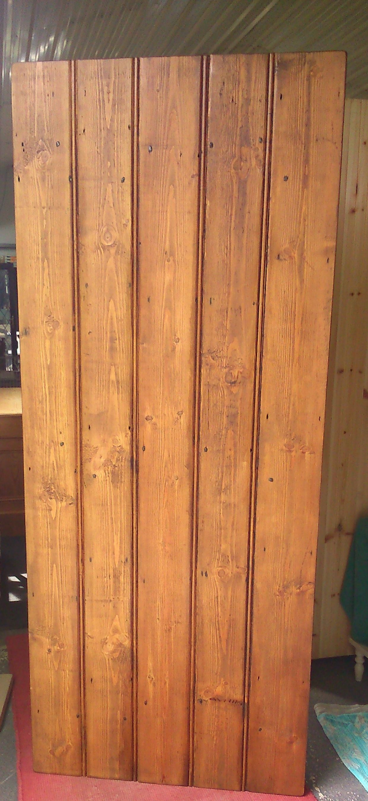 Reclaimed pine waxed finish old style cottage doors made