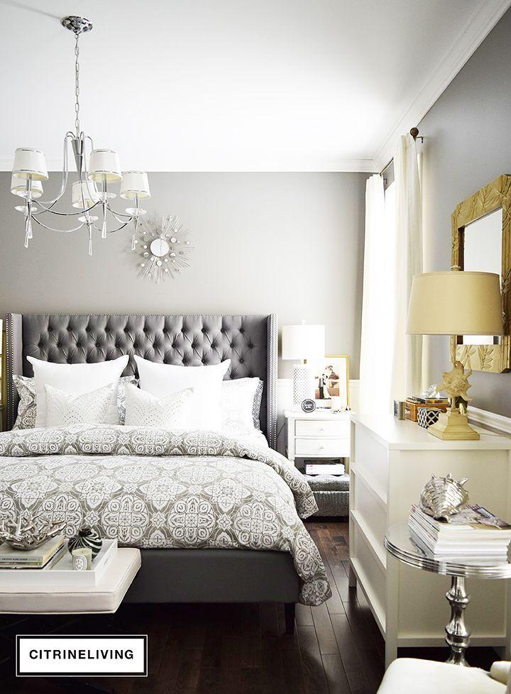 How To Create The Perfect Curated Bedroom Grey Headboard Bedroom Remodel Bedroom Gray Master Bedroom