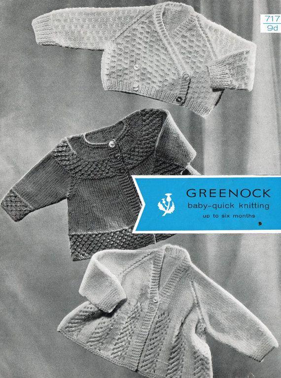 8e2eb54f359c Greenock 717 three designs baby matinee coat vintage by Ellisadine ...