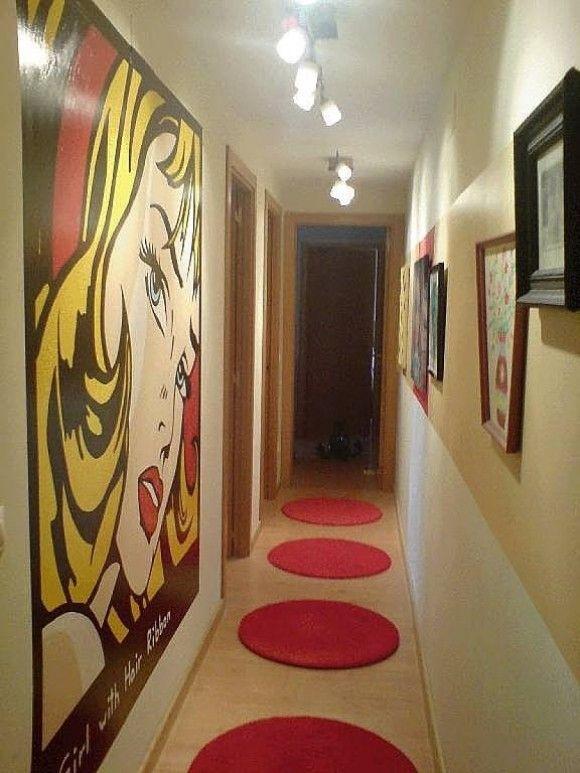 Como decorar un pasillo buscar con google decorar - Cuadros para decorar pasillos ...