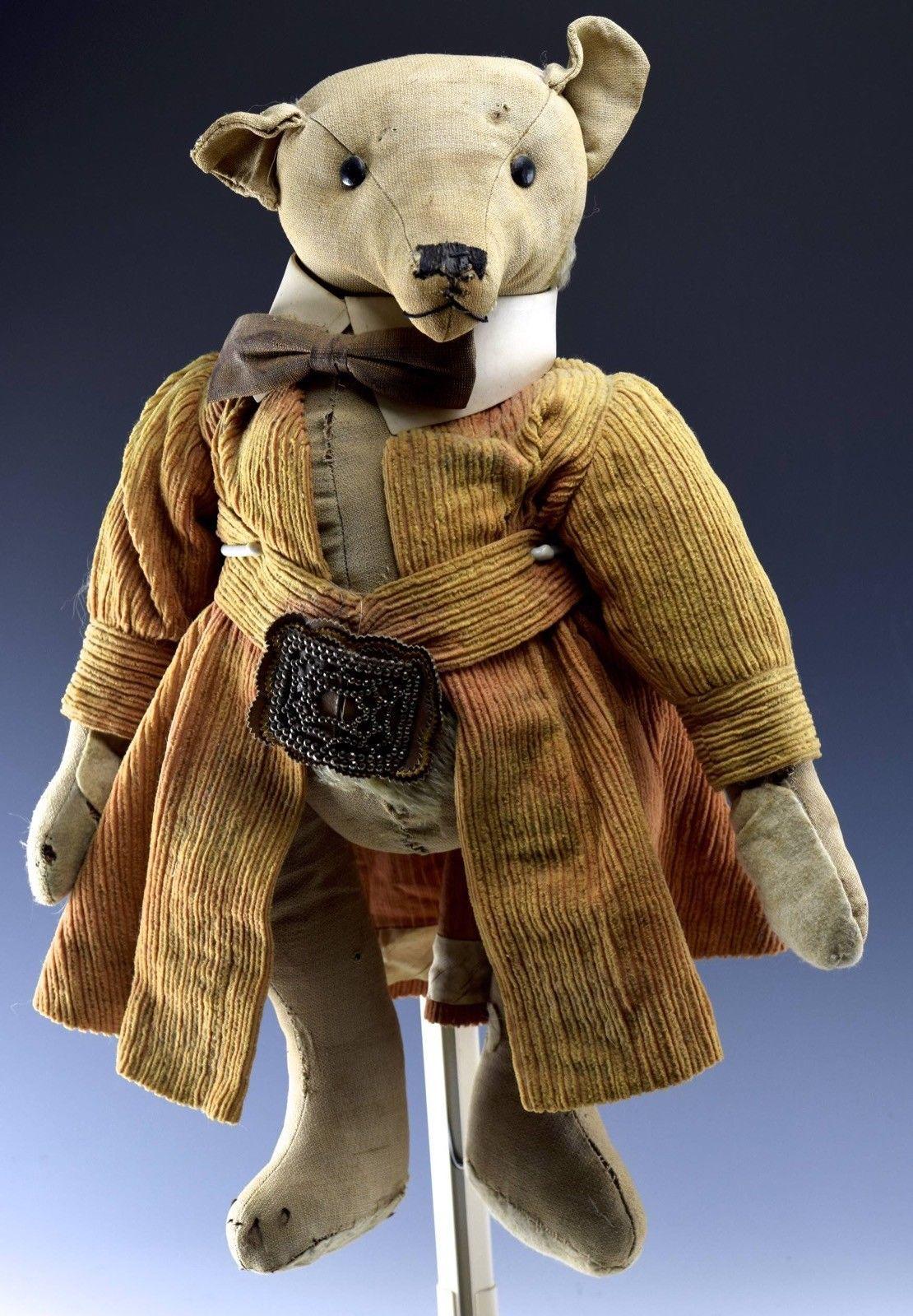 Not Old I Think And Not Steiff But An Odd And Handsome Critter All The Same Mohair Teddy Bear Teddy Bear Steiff